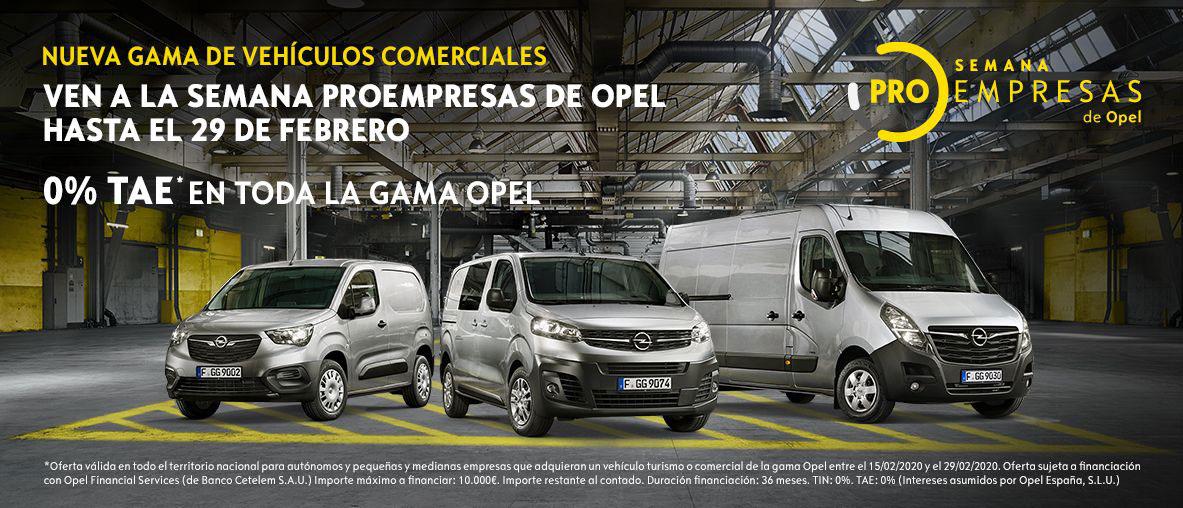 Opel semana proempresas opel 0 tae en toda la gama opel